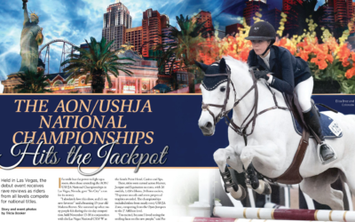 The AON/USHJA National Championships Hit the Jackpot
