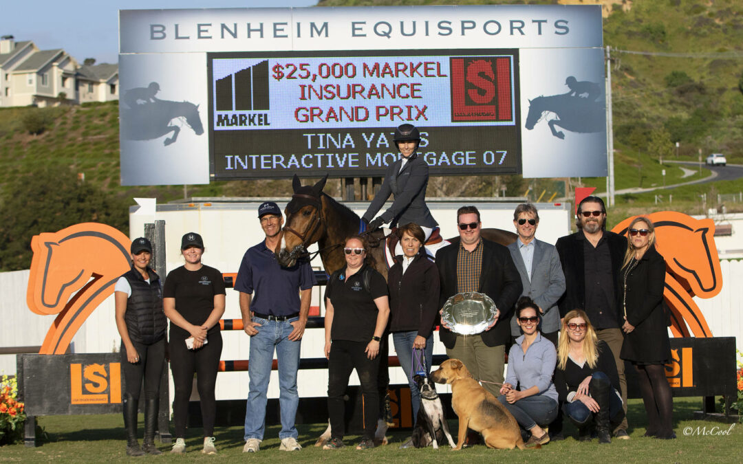 Tina Yates and Interactive Mortgage 07 Rise To The Top In First Markel Insurance Grand Prix of 2019