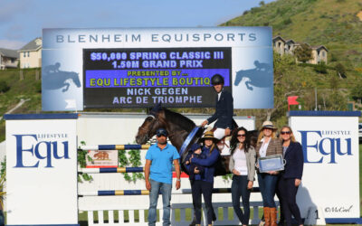 Nick Gegen Is Triumphant In The Spring Classic III Grand Prix Presented By Equ Lifestyle Boutique