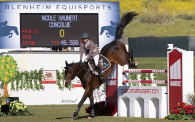 Nicole Haunert Scores Top Two In Markel Insurance Grand Prix
