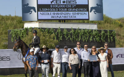 The Grand Finale of the FEI CSI3* Gold Tour – Shahinian-Simpson Takes the Gold