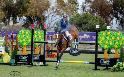 Rich Fellers and Steelbi Sizzle in the FEI CSI2* Power & Speed at Showpark Ranch & Coast Classic