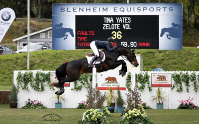 Tina Yates And Zelote VDL Zoom To The Win In The FEI CSI2* Speed Classic At Showpark Ranch & Coast Classic