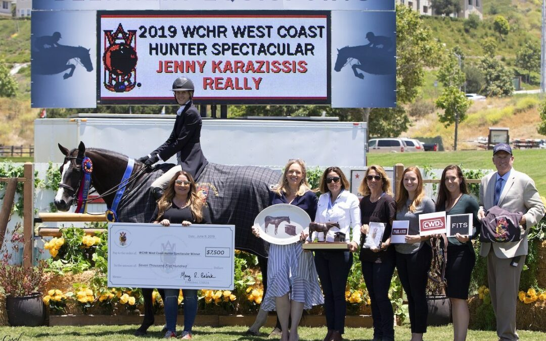 A Really Exciting Finish in the $25,000 USHJA World Championship Hunter Rider West Coast Hunter Spectacular