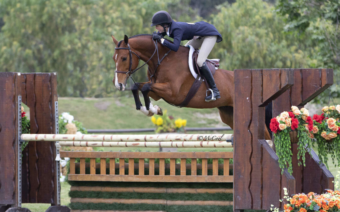 It's Taylor Time! Katie Taylor and L'Con Reyes Claim USHJA International Hunter Derby Victory