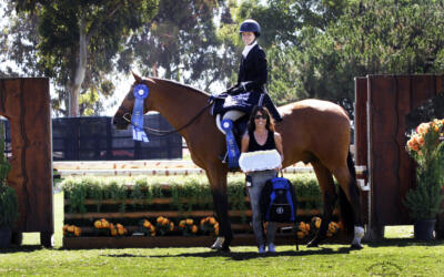 Caroline Ingalls and Concerto in Perfect Harmony to Win the Amateur Owner Hunter Challenge, presented by USHJA Zone 10