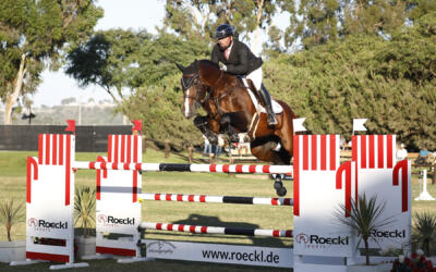 Guy Thomas and Cassio Rivetti Lead the Victory Gallops in the FEI CSI 2* Silver and Bronze Tour Highlight Events