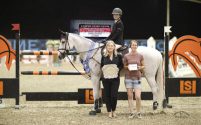 Jamie Barge Lights Up The Night At The $25,000 Markel Insurance Grand Prix