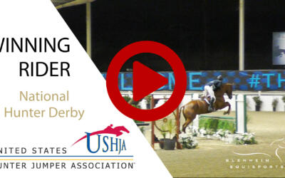 Robert Sean Leckie and Easy Street HU Take the High Road for the Win in the $25,000 USHJA National Hunter Derby