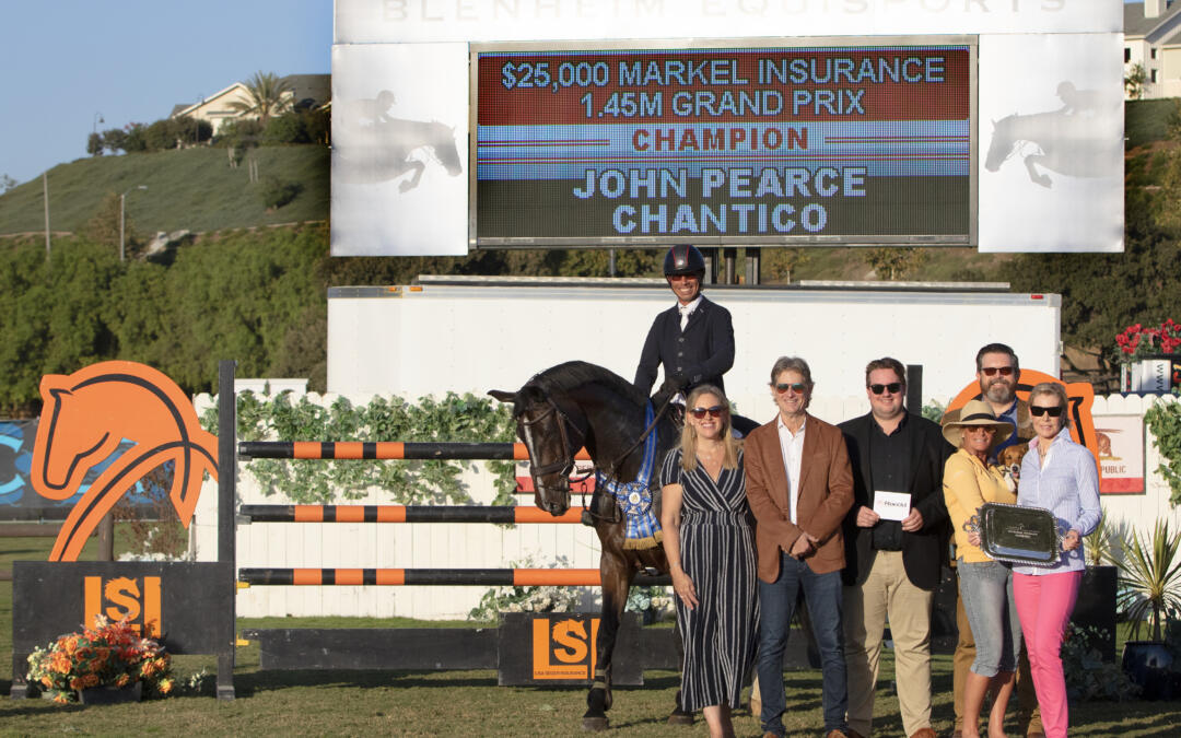 John Pearce Is Faultless In Final $25,000 Markel Insurance Grand Prix Qualifier