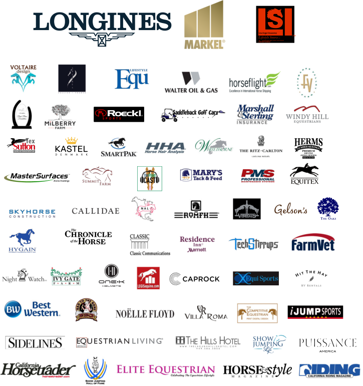 Sponsor logo collage