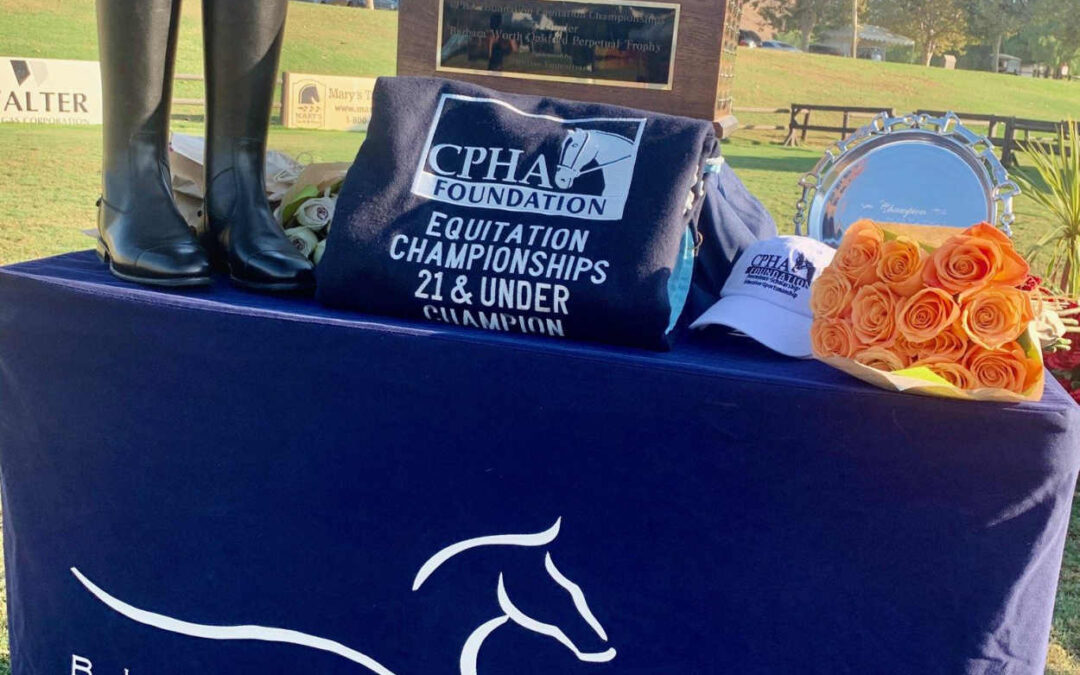 CPHA Foundation Equitation Championships
